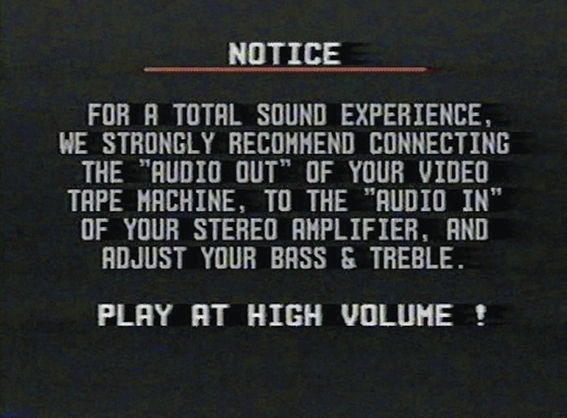 Play At High Volume